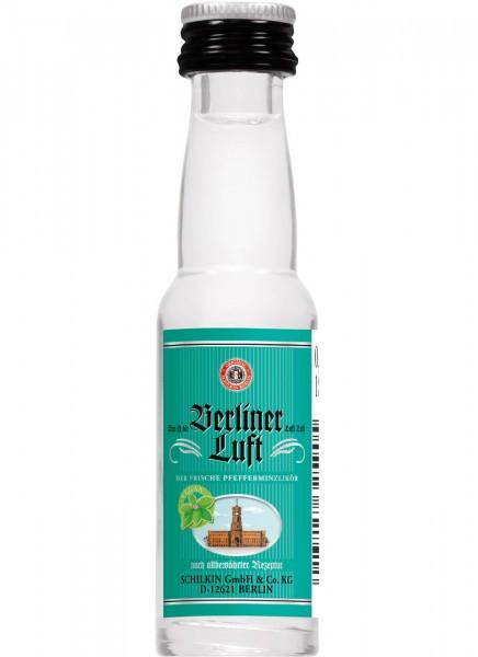 Berliner Luft Pfefferminzlikör Miniatur 0,02 L
