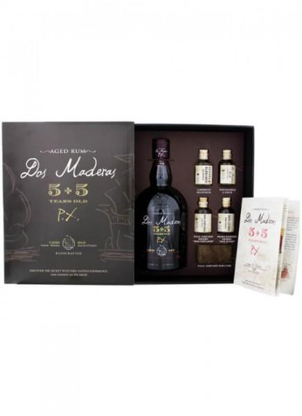 Dos Maderas Rum 5+5 PX Tasting Experience 0,788 L