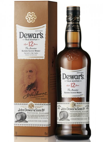 Dewars 12 Years Old Special Reserve Whisky 0,7 L