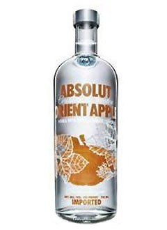 Absolut Vodka Orient Apple 1 L