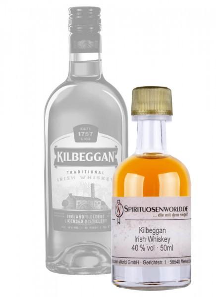 Kilbeggan Finest Whisky Tastingminiatur 0,05 L