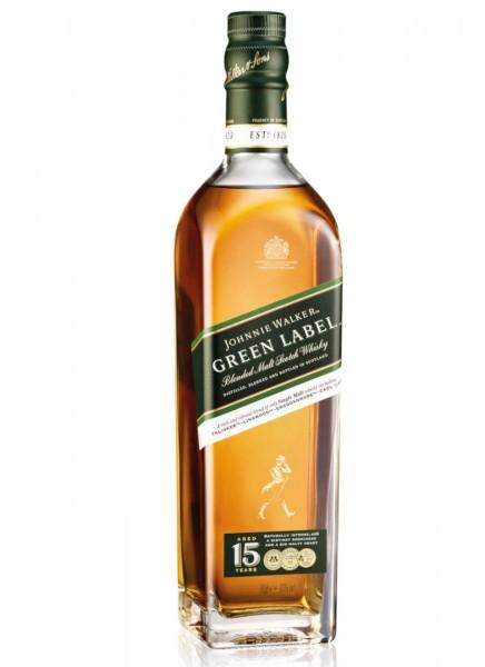 Johnnie Walker Green Label Blended Scotch Whisky 0,7 L