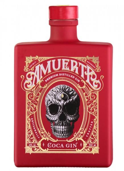 Amuerte Coca Leaf Gin - Red Edition 0,7 L
