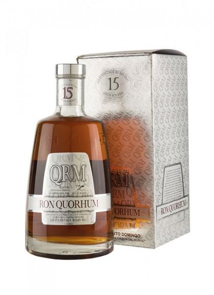 Ron Quorhum 15 Anos Solera Rum 0,7 L