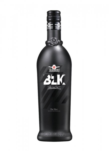 Trojka Vodka Likör Black 0,7 L