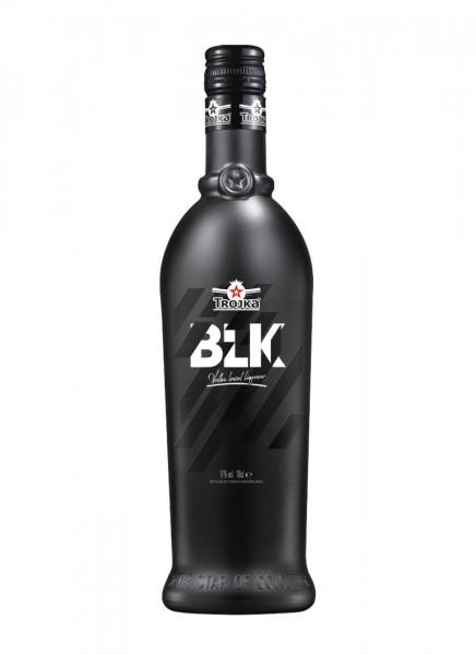 Trojka Vodka Likör Black 0,7 L