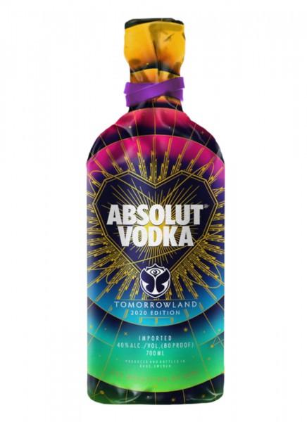 Absolut Vodka Tomorrowland 2020 Edition 0,7 L
