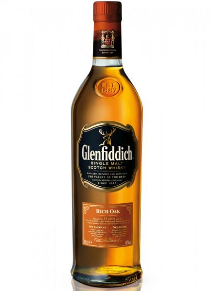 Glenfiddich 14 Years Rich Oak Single Malt Scotch Whisky 0,7 L