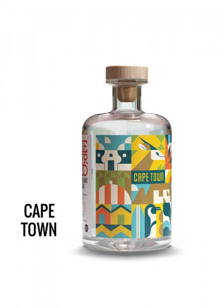 Siegfried Rheinland Dry Gin Capetown Edition 0,5 L