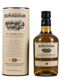 Edradour 10 Years Whisky 0,7 L