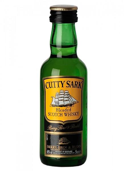Cutty Sark Blended Scotch Whisky Miniatur 0,05 L
