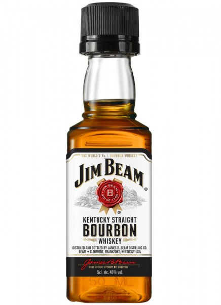 Jim Beam White Whiskey Mini 0,05 L