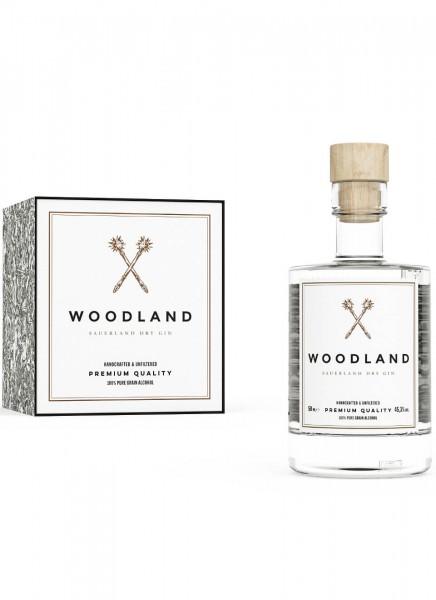 Woodland Sauerland Dry Gin Mini 4er 0,2 L