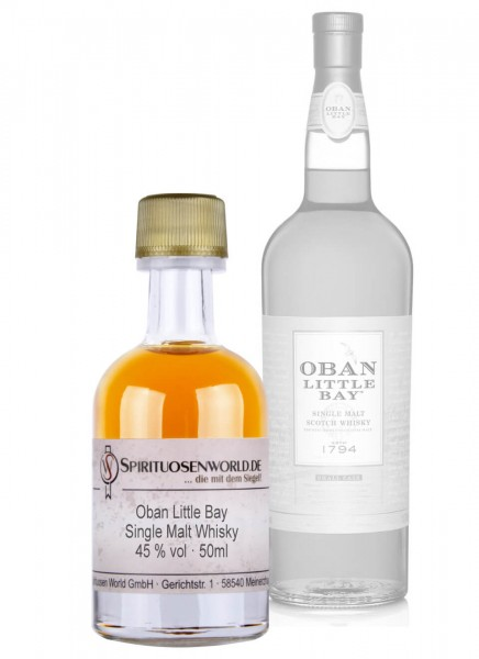 Oban Little Bay Whisky Tastingminiatur 0,05 L