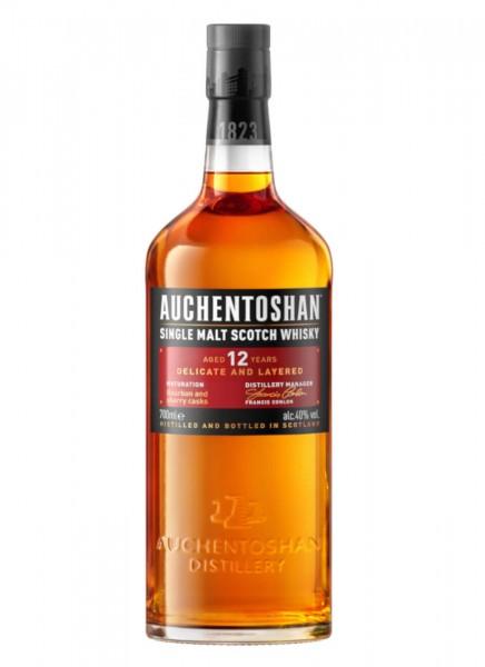 Auchentoshan 12 Years Single Malt Scotch Whisky 0,7 L