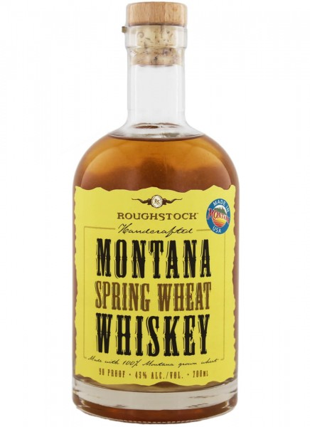 Roughstock Montana Spring Wheat Whiskey 0,7 L