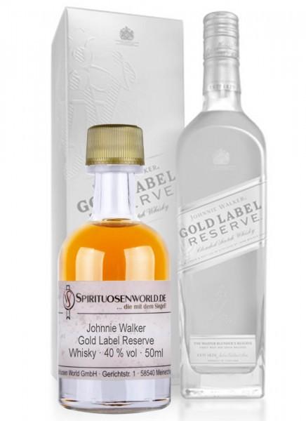Johnnie Walker Gold Label Reserve Whisky Tastingminiatur 0,05 L