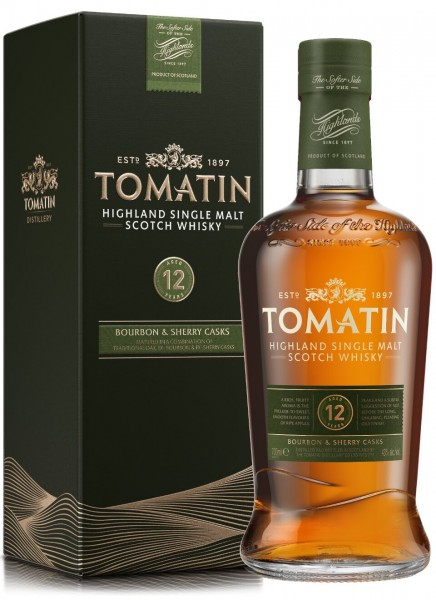 Tomatin 12 Years Highland Single Malt Scotch Whisky 0,7 L