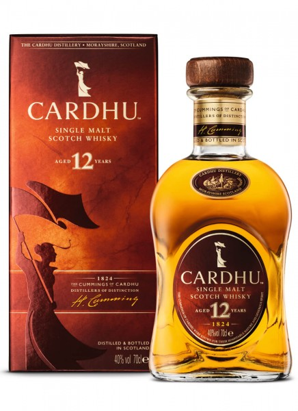 Cardhu 12 Years Whisky 0,7 L