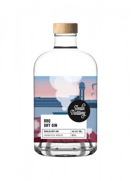 Berlin Distillery BBQ Dry Gin 0,5 L