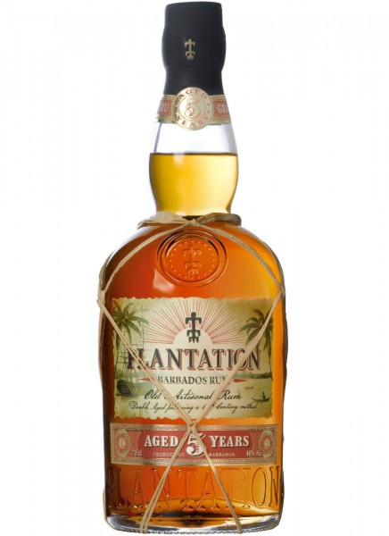 Plantation Barbados Rum 5 Years 0,7 L