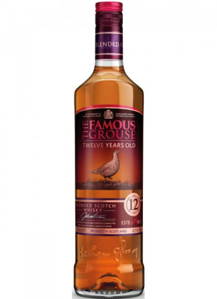 Famous Grouse Malt Whisky Aged 12 Years 0,7 L
