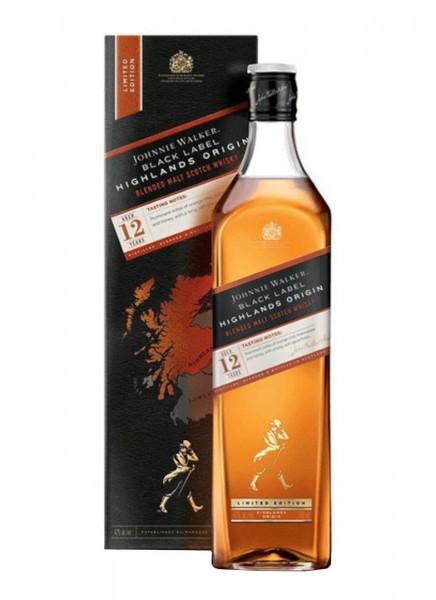 Johnnie Walker Black Label Highlands Origin Whisky 0,7 L
