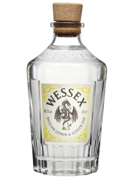 Wessex Sicillian Lemon & Ginger Gin 0,7 L