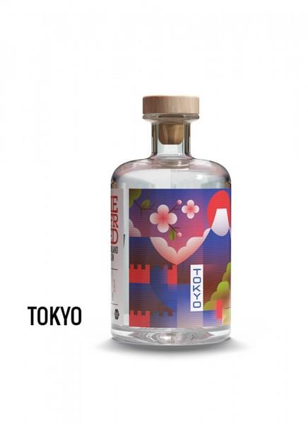 Siegfried Rheinland Dry Gin Tokyo Edition 0,5 L