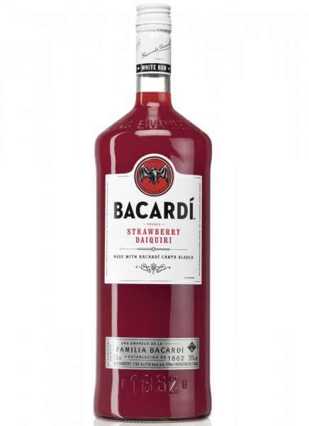 Bacardi Daiquiri Strawberry 1,5 L