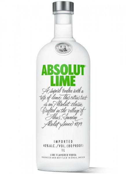 Absolut Vodka Lime 1 L