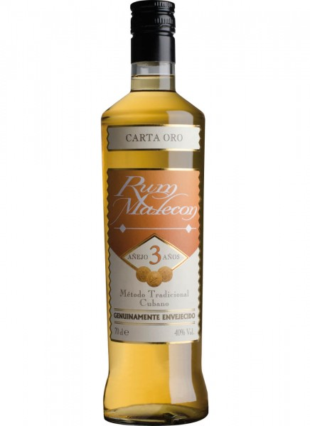 Malecon 3 Years Old Rum 0,7 L