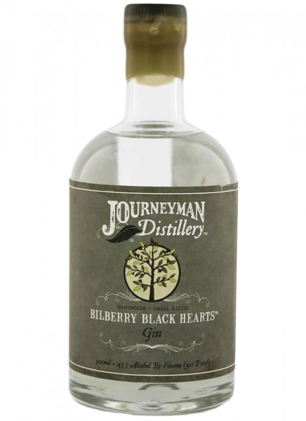 Journeyman Bilberry Black Hearts Gin White 0,5 L