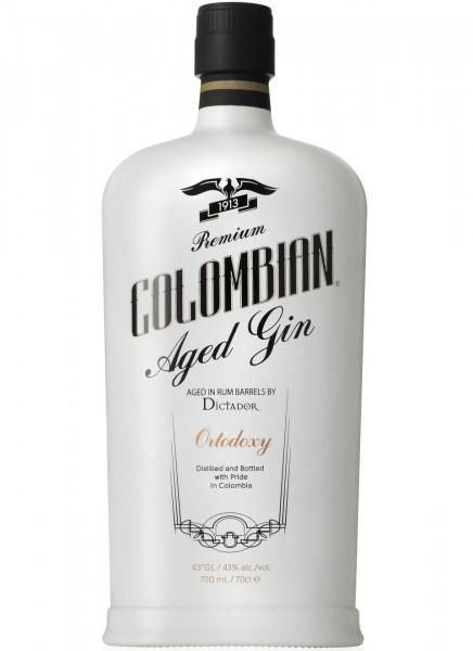 Dictador Ortodoxy Colombian Gin 0,7 L