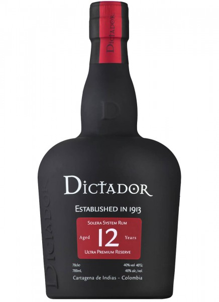 Dictador 12 Years Rum 0,7 L