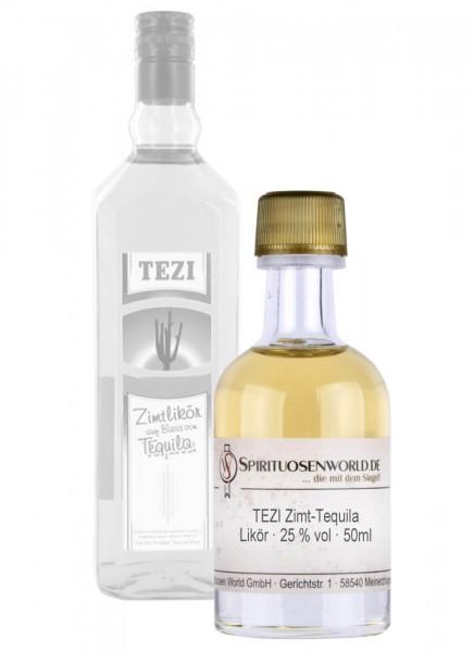TEZI Zimt-Tequila Tastingminiatur 0,05 L