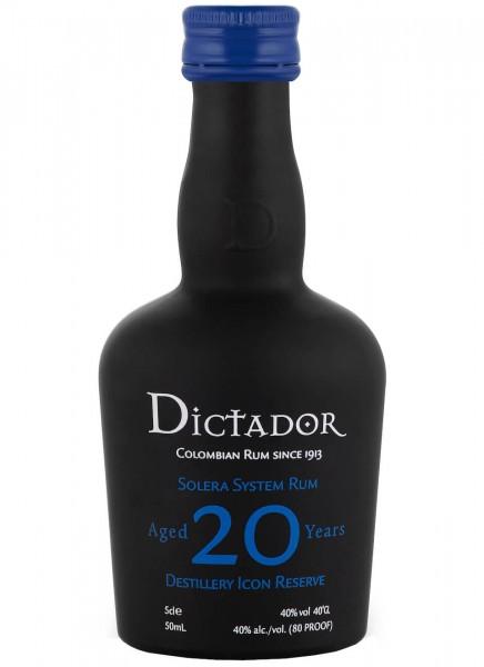 Dictador 20 Years Rum Mini 0,05 L