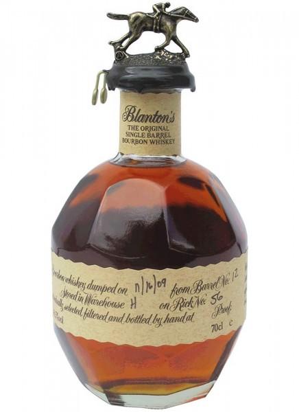 Blantons Original Single Barrel Bourbon Whiskey 0,7 L