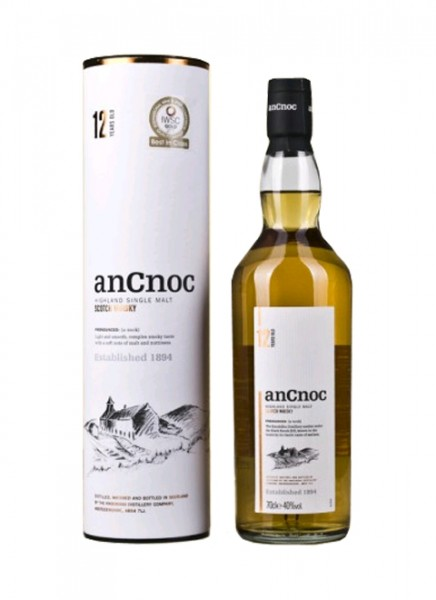 AnCnoc 12 Years Whisky 0,7 L