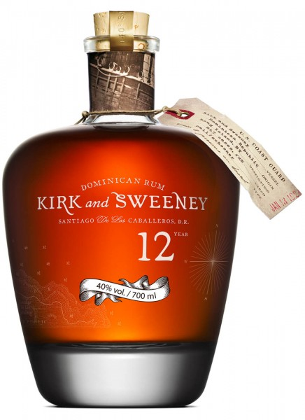 Kirk and Sweeney 12 Jahre Rum 0,7 L