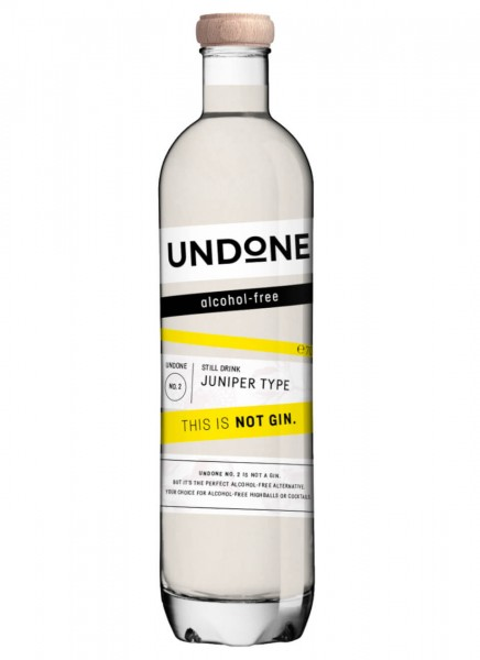 Undone No. 2 Juniper Type This is NOT Gin! 0,7 L