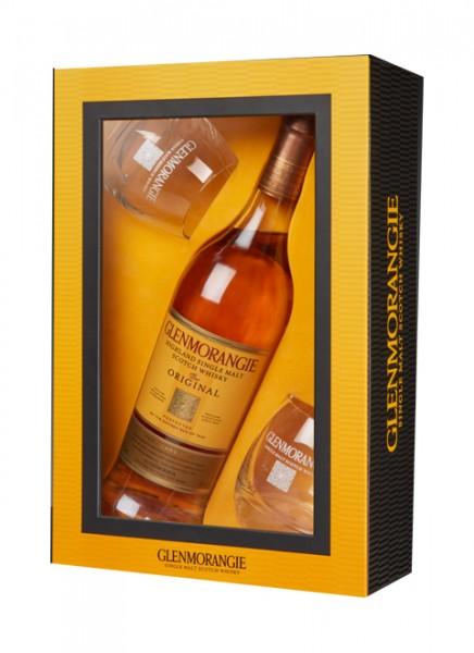 Glenmorangie Original 10 Jahre Geschenkset Single Malt Whisky 0,7 L