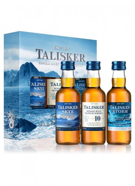 Talisker Single Malt Scotch Whisky Miniaturen Set 0,15 L