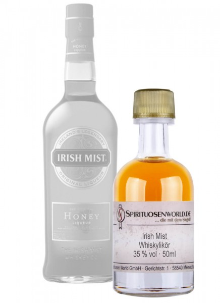 Irish Mist Whiskey-Likör Tastingminiatur 0,05 L