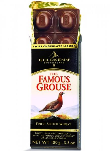 Schokolade The Famous Grouse Goldkenn 0,1 Kg