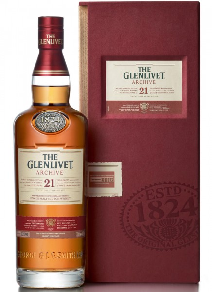 The Glenlivet 21 Years Single Malt Scotch Whisky 0,7 L