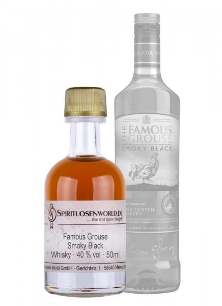 Famous Grouse Smoky Black Whisky Tastingminiatur 0,05 L