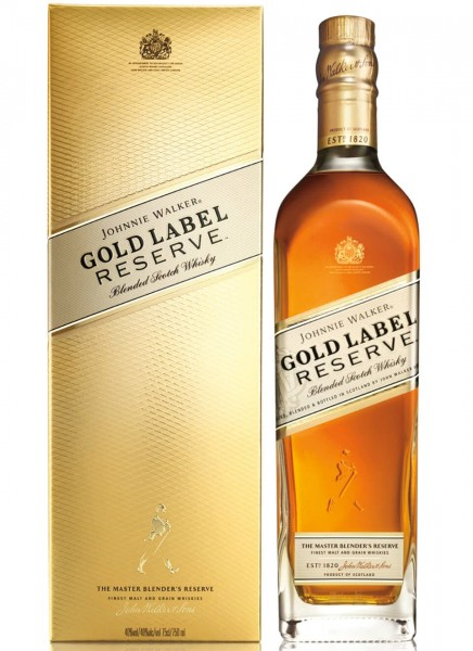 Johnnie Walker Gold Label Reserve Blended Scotch Whisky 0,7 L
