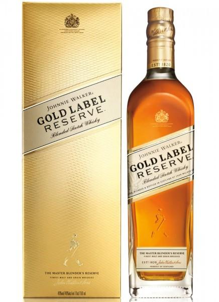 Johnnie Walker Gold Label Reserve Blended Scotch Whisky 0,7 L