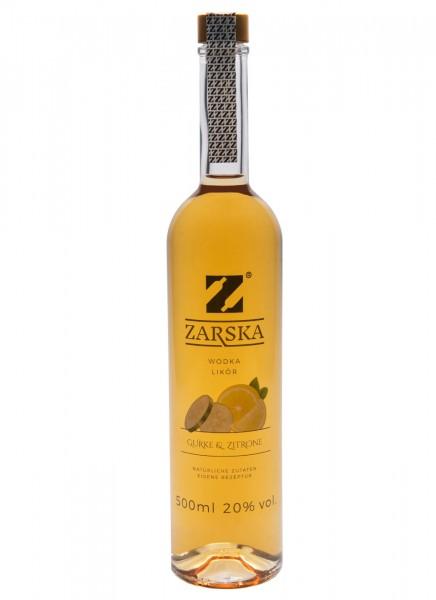 Zarska Gurke & Zitrone Wodka Likör 0,5 L